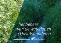 """mei 2017 -  nieuwe brochure """"Wonen langs een waterloop"""" van de provincie Oost-Vlaanderen"""