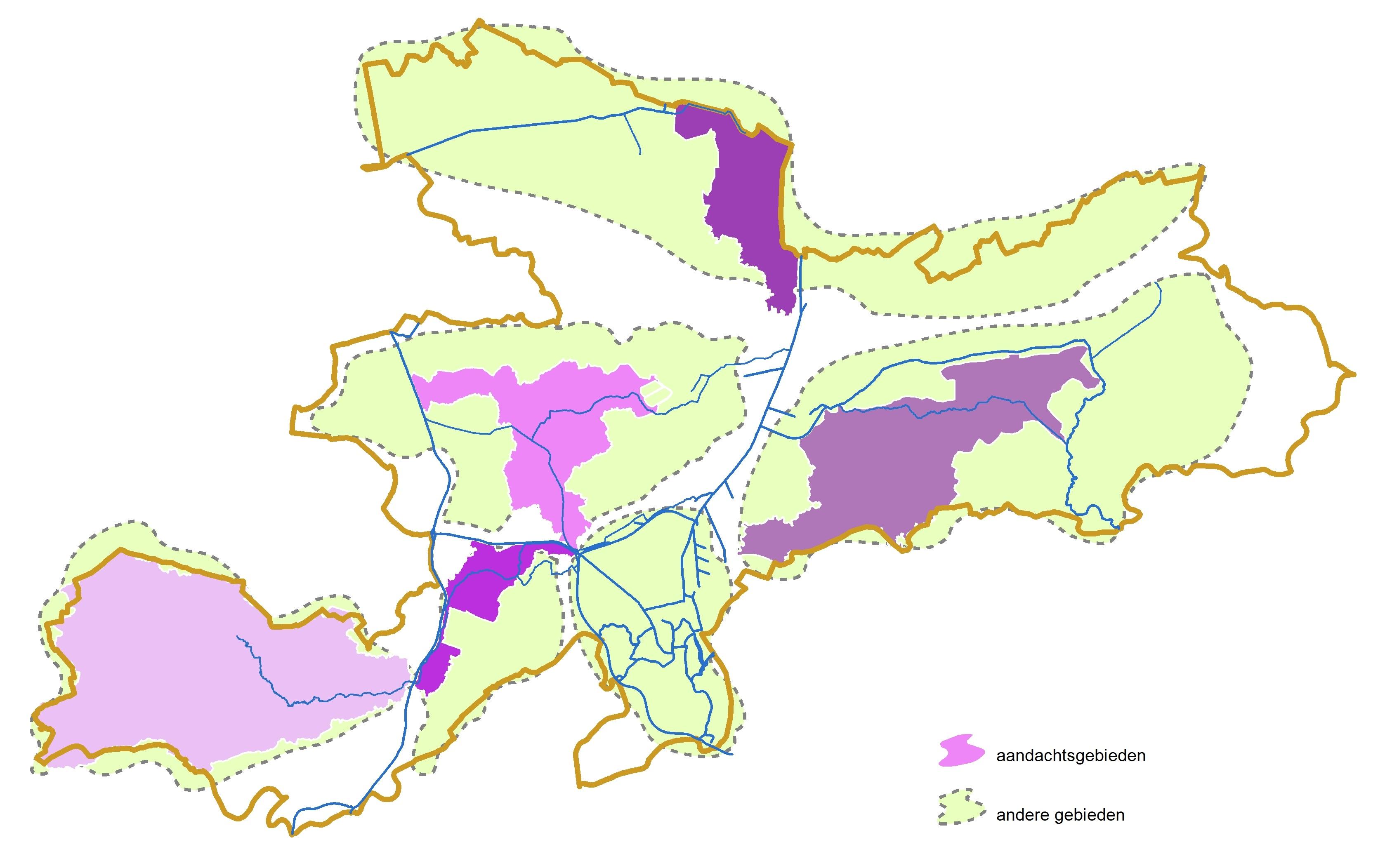 Bekkenkaart bekken van de Gentse Kanalen