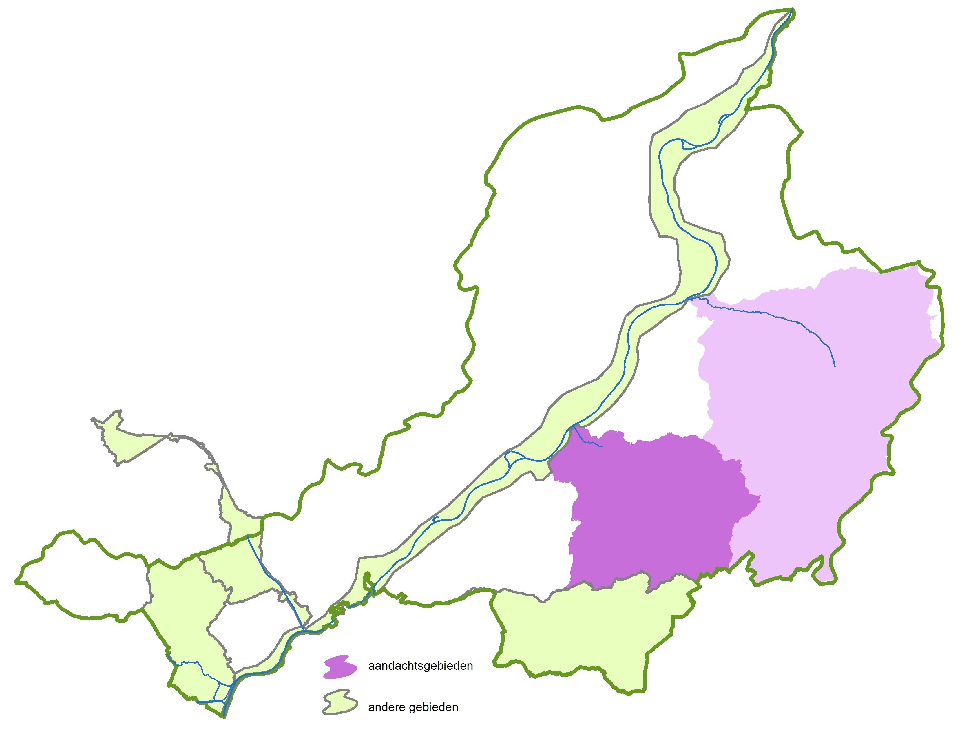Bekkenkaart Bovenscheldebekken