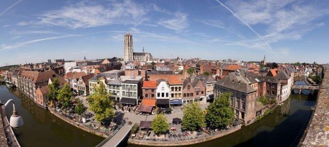 De Binnendijle te Mechelen © Stad Mechelen