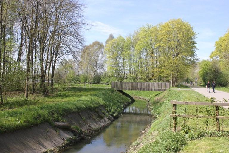 Gaverbeek nabij monding Keibeek