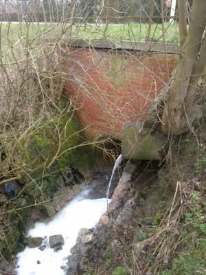 Afvalwater melkinstallatie