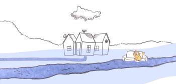 Beeld meerlaagse waterveiligheid vermijdt overstromingsschade