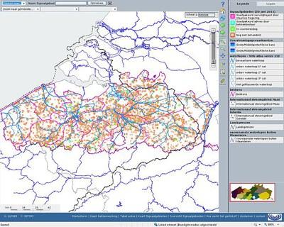 Screenshot geoloket signaalgebieden