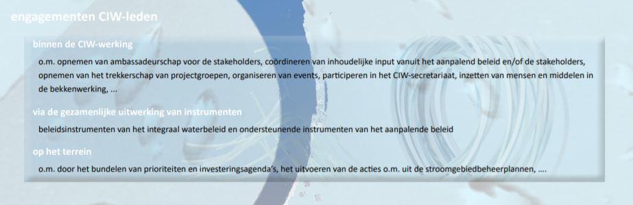 engagementen CIW-leden
