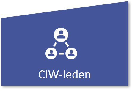 knop CIW-leden